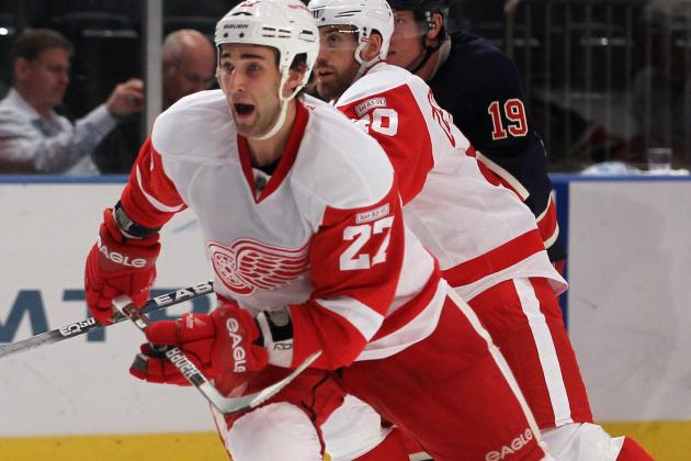 Red Wings Sign Defenseman Kyle Quincey to Two-Year Deal, Avoid Arbitration