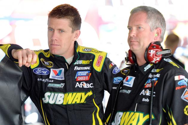Edwards, Osborne Show That Driver/Crew Chief Pairs Don't Last Forever