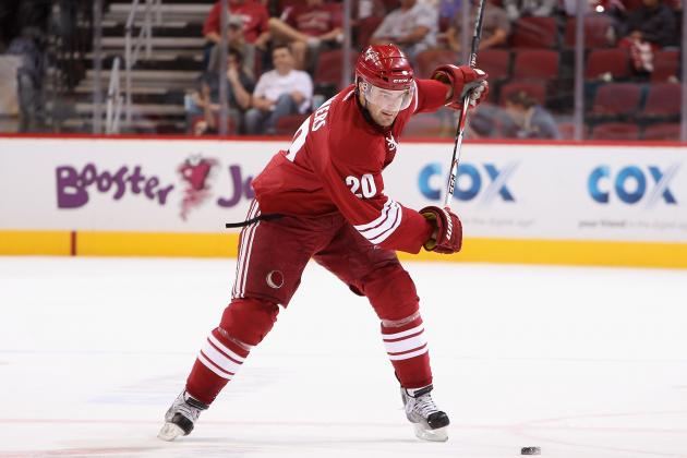 Phoenix Coyotes Re-Sign Chris Summers to One-Year Deal