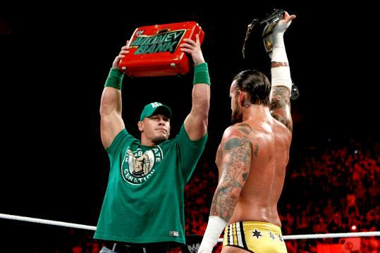 WWE: A Better Way to Use Cena's MITB Briefcase