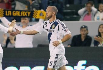 Norwegian club Valerenga have given LA Galaxy forward Chad Barrett a one-week trial.