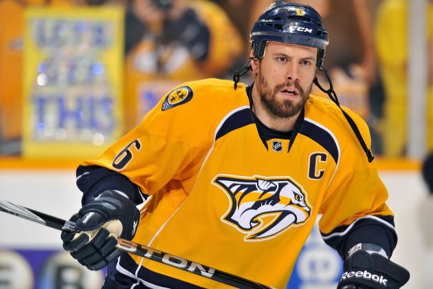 Report: Shea Weber Signs Offer Sheet from the Philadelphia Flyers