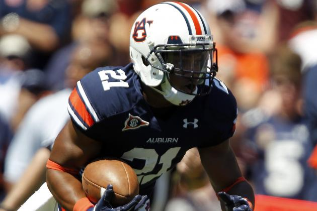 Auburn Is Developing a Powerful Rushing Offense for the 2012 Season