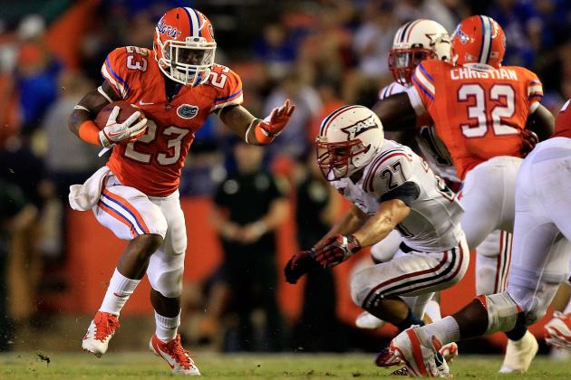 Florida Football 2012: Can Mike Gillislee Make Good on the Big Projections?