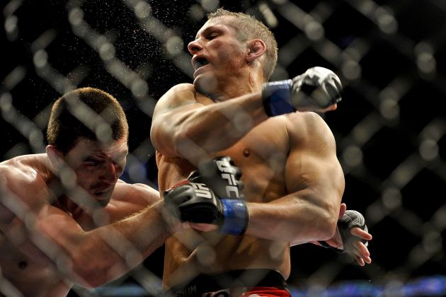 Clements Is Good at Taking Beatings and Is Ready to Give Riddle One at UFC 149
