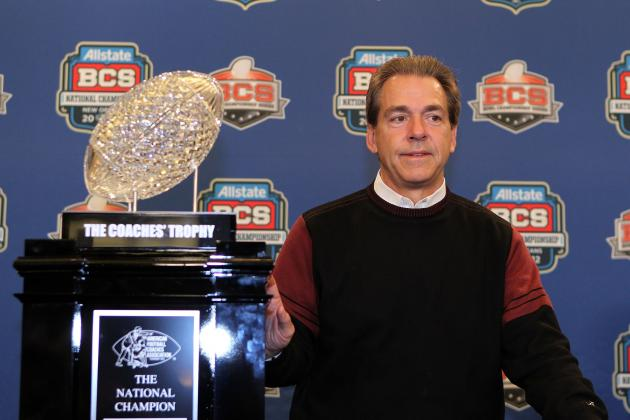 Alabama Football: Nick Saban Says Conference Champ Argument Is Shot at SEC