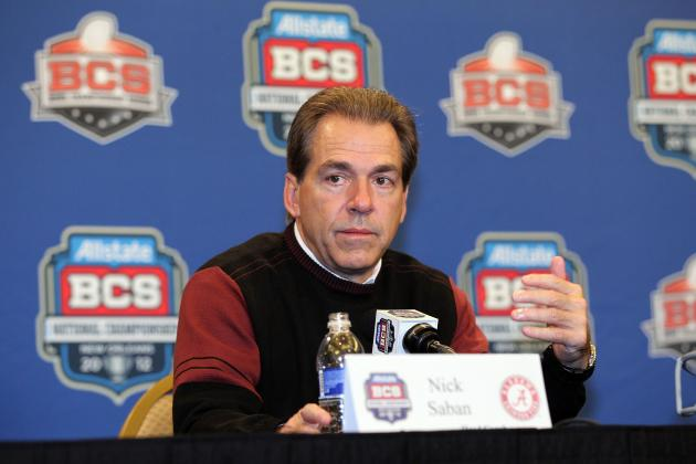 Alabama Football: Nick Saban Suggests a Tax to Benefit Penn State Victims