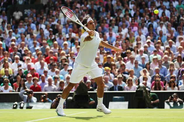 Ranking Roger Federer, Novak Djokovic and Rafa Nadal on Each Major Surface