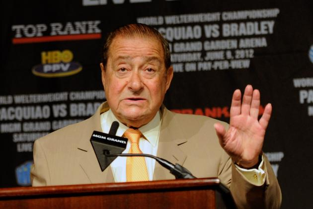 Bob Arum Plans on Possibly Making 2 Pacquiao vs. Mayweather Jr. Fights in 2013