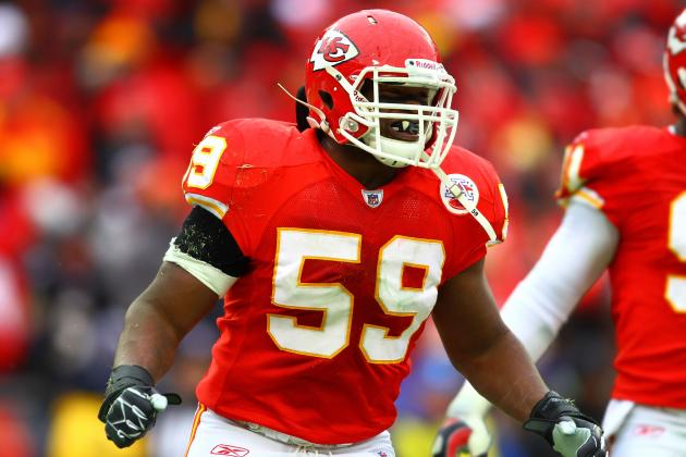Kansas City Chiefs Training Camp 2012: Best Position Battle at Middle Linebacker