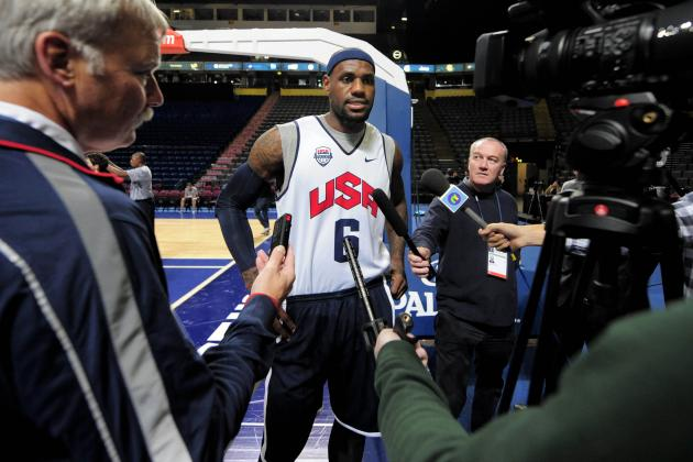 USA Olympic Basketball Team Schedule: Full TV and Online Listing for US Matchups