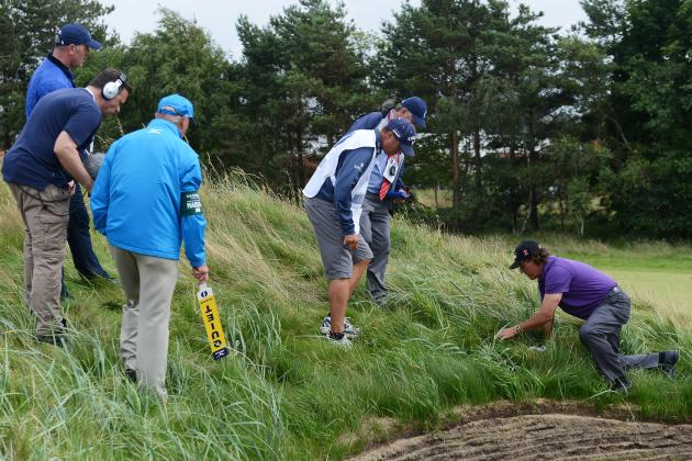 British Open Scores 2012: Where Top Stars Struggled the Most