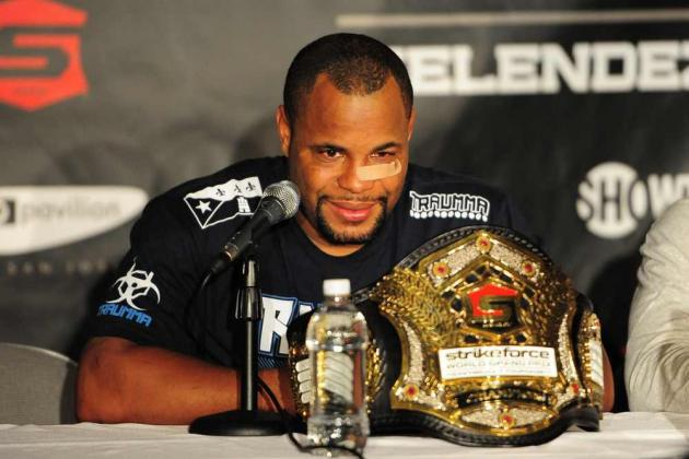Daniel Cormier Could Drop to Light Heavyweight to Fight UFC Champ Jon Jones