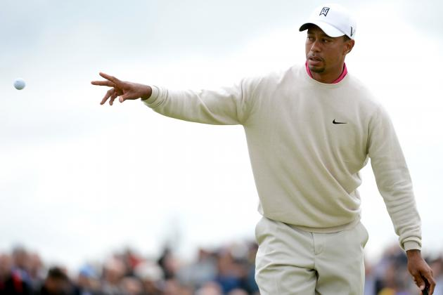 British Open 2012: Leaderboard Highlights and Recap for Round 1