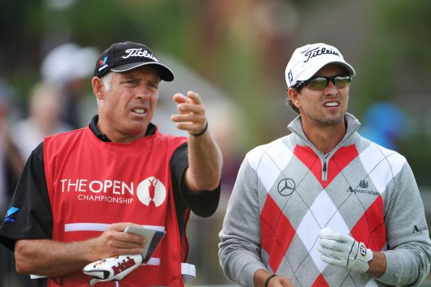Steve Williams Aiding Adam Scott Another Distraction for Tiger Woods