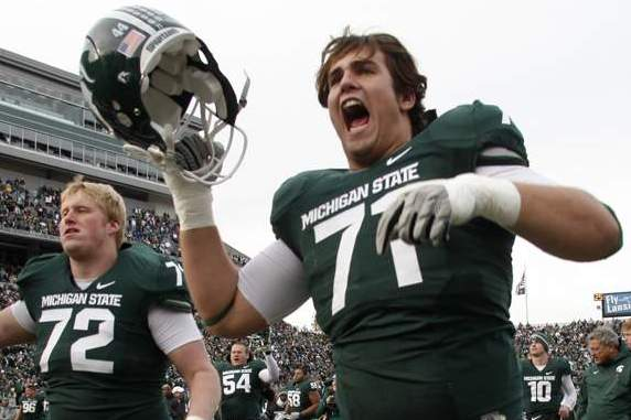 Michigan State Football OL John Deyo Confirms He Is Transferring to WMU