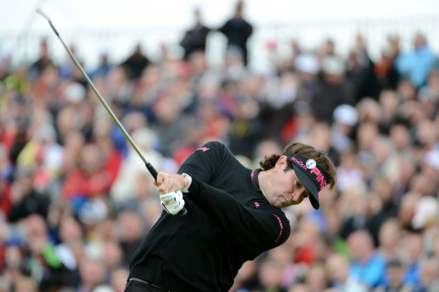 The Open Championship 2012: Bubba Watson on Track to Continue Impressive Year