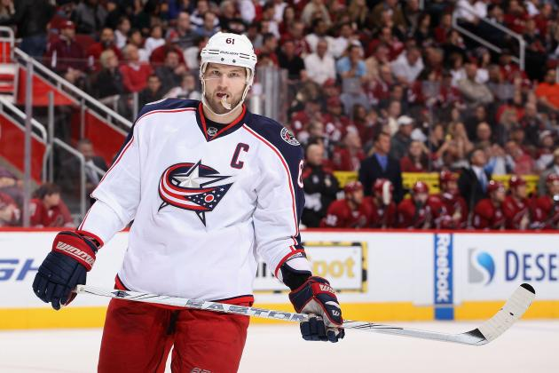 Rick Nash Rumors: Will the High Asking Price Result in Nash Staying in Columbus?