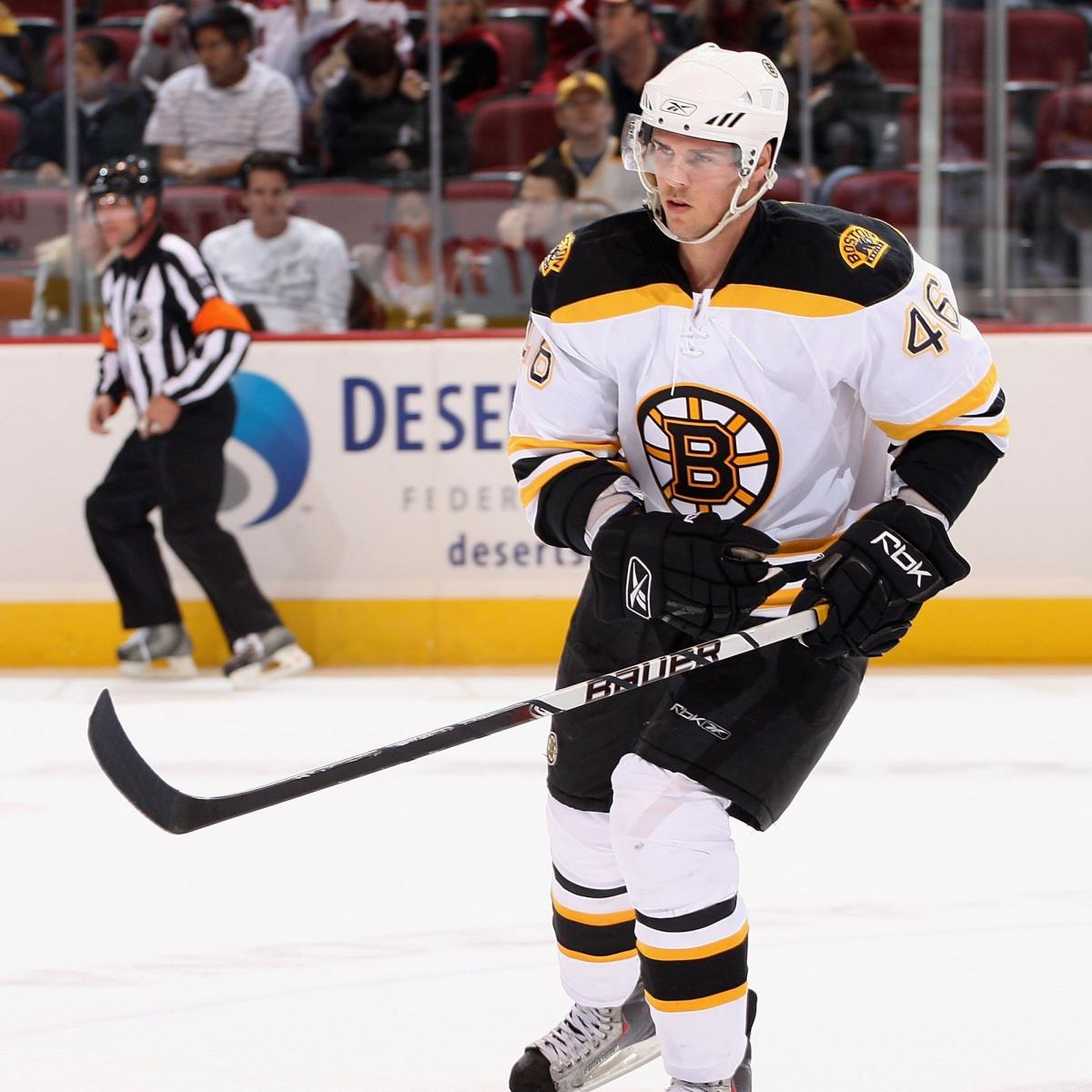 NHL Trade Rumors: Should Bruins Trade David Krejci For A