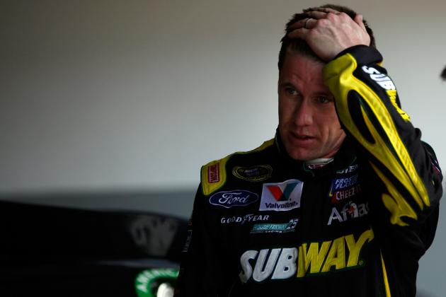 NASCAR: Can Carl Edwards Recover from the Stunning Breakup?