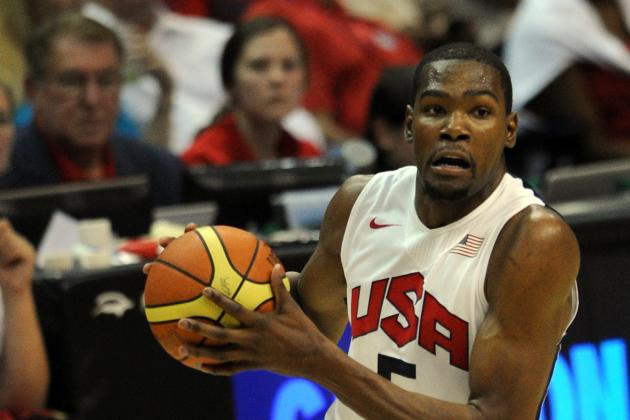 Olympics 2012: Team USA Shows Its Best Lineup Includes Kevin Durant