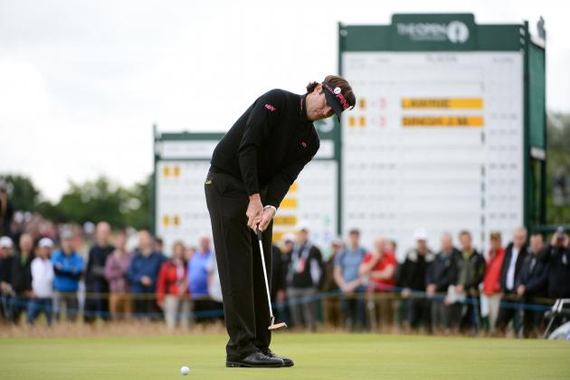 British Open 2012: Bubba Watson and Others Ready to Make Weekend Charge