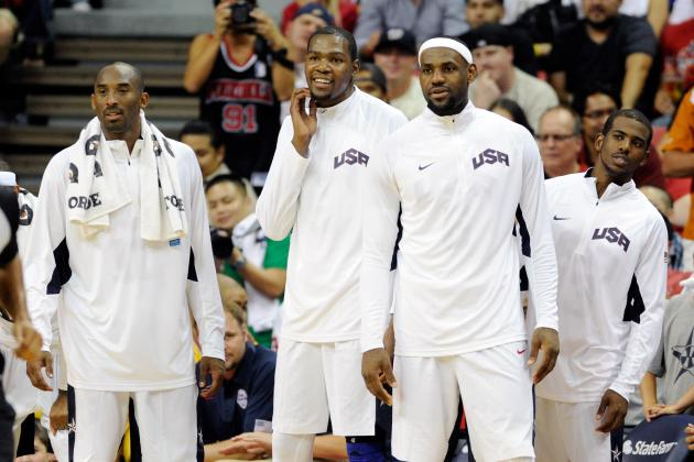 Team USA Beats Great Britain and Won't Lose a Basketball Game in London Olympics