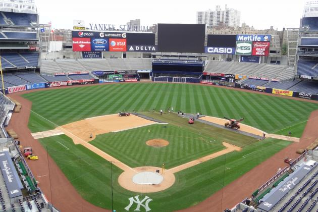 Yankee Stadium Prepares to Host Match Between Chelsea FC and Paris-Saint Germain