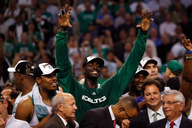 Kevin Garnett's Legacy Will Be as a Member of the Boston Celtics