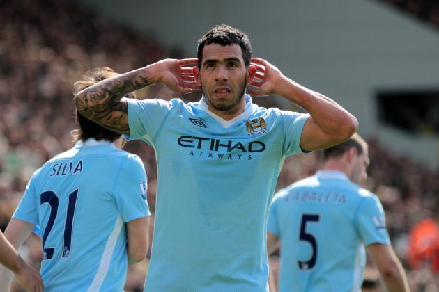 Manchester City: Would You Rather Have Robin Van Persie or Carlos Tevez?