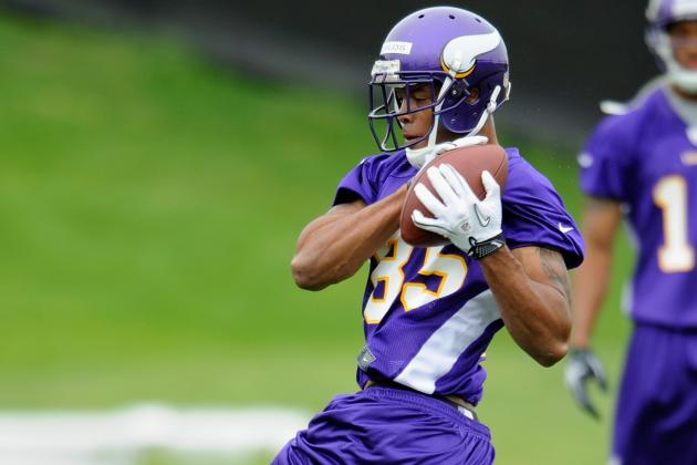 Minnesota Vikings' Michael Jenkins Could Be on Roster Bubble