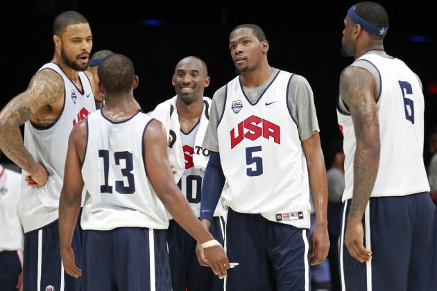 Olympics 2012 Schedule: USA Men's Basketball's Road to Gold