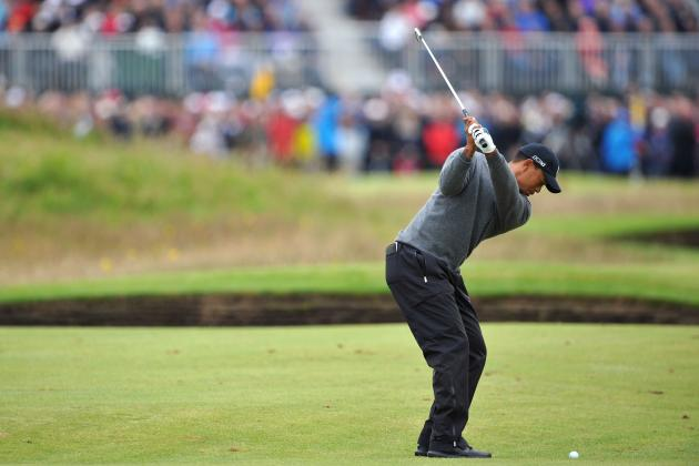 British Open Cut Line 2012: Live Update on Tiger Woods and Other Top Stars