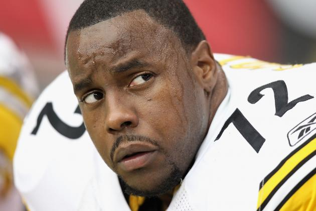 Steelers Release OT Jonathan Scott, Paving Way for Mike Wallace Deal