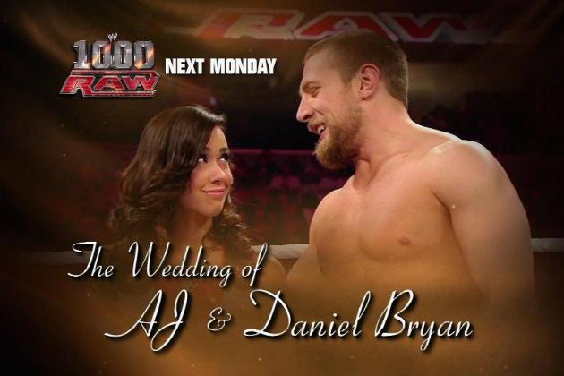 WWE: Daniel Bryan & AJ Wedding Will Be Beautiful Disaster
