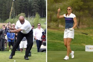 Charles Barkley Would Appreciate If Brandi Chastain Took Her Shirt Off