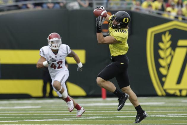 Oregon Football: Senior Wide Receiver to Miss 2012 Season Due to Injuries