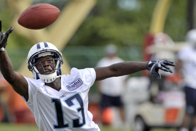 Titans' 1st-Round Pick Kendall Wright Should Start After Britt Arrest