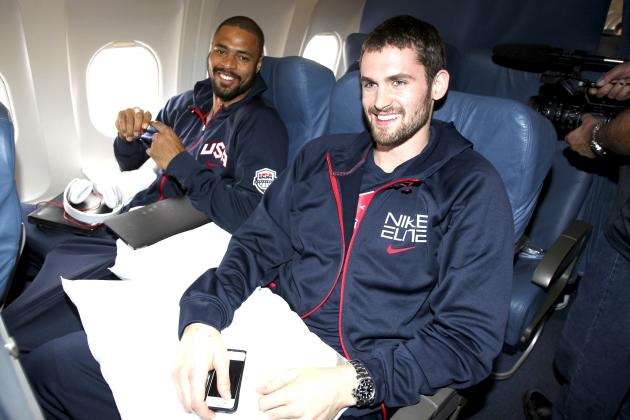 Kevin Love Has Seen the Greener Grass of Team USA