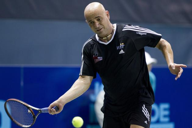 Agassi, McEnroe Give a Glimpse of the Past and a Help to the Future