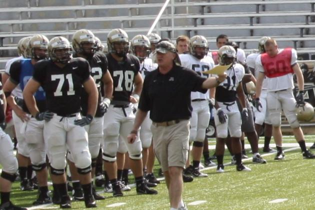 West Point Football:  Black Knights to Practice in Early Morning in 2012