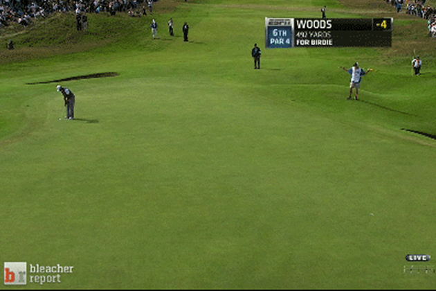 Watch Tiger Sink 50-Foot Birdie