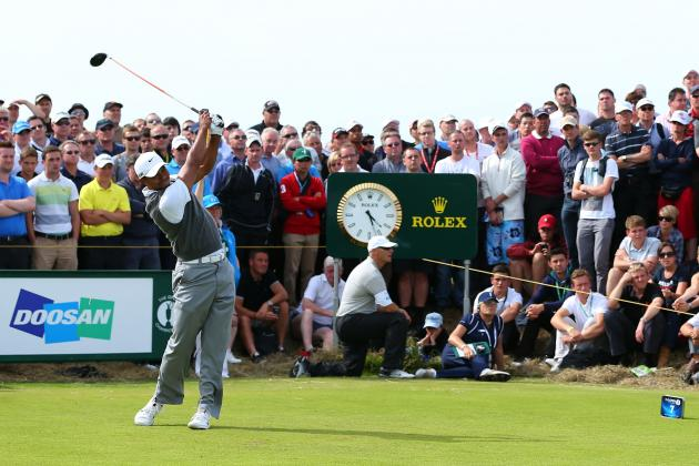 Tiger Woods Will Fall Short in the British Open After His Strong Start