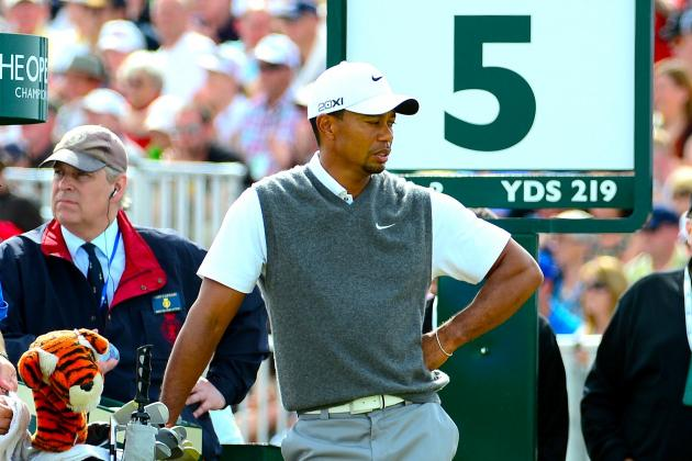 Tiger Woods at British Open 2012 Tracker: Highlights, Updates and Analysis