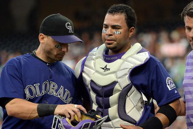 Rosario Continues to Rest Hurting Ankle