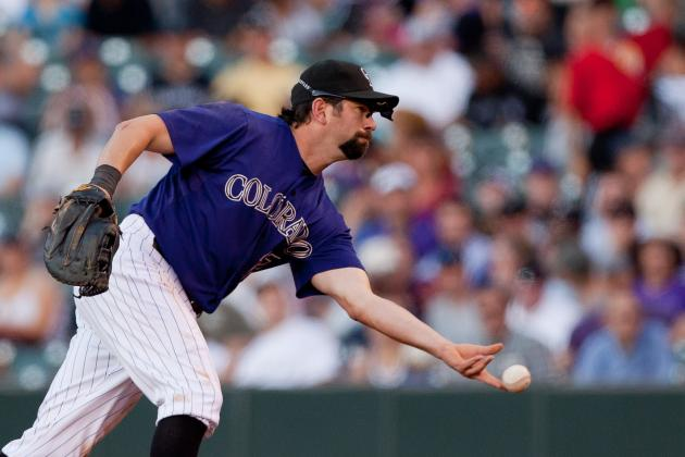 Rockies' Todd Helton Gets Two Hits in Grand Junction Rehab Start