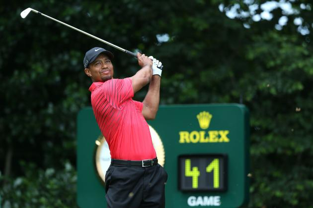British Open 2012: Live Update on Tiger Woods and Other Top Stars