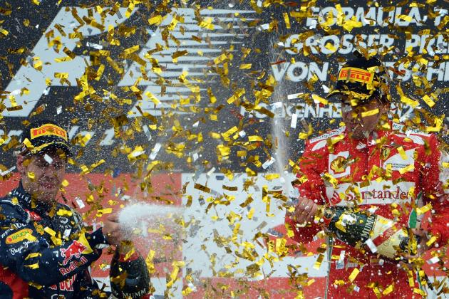 Fernando Alonso Storms to Victory at the 2012 German Grand Prix