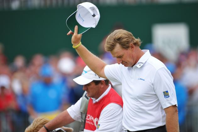 British Open Results 2012: Where Ernie Els' Performance Ranks All Time