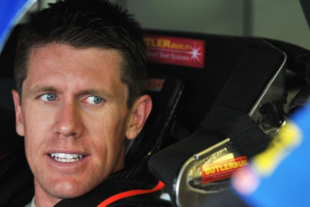 NASCAR Sprint Cup Series: Why Carl Edwards Is Due for a Hot Streak